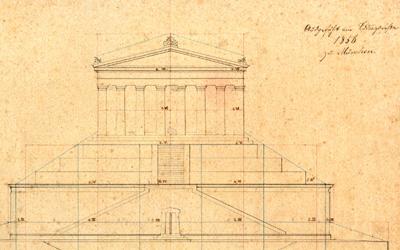 Entwurf Lichterbild 1856 b
